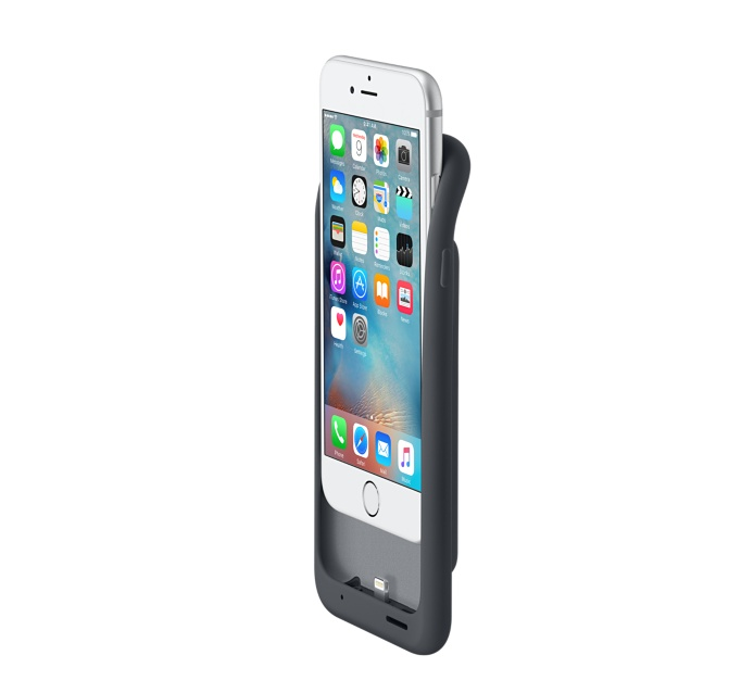 Apple's eigen Smart Battery Case voor de iPhone 6s (plus)