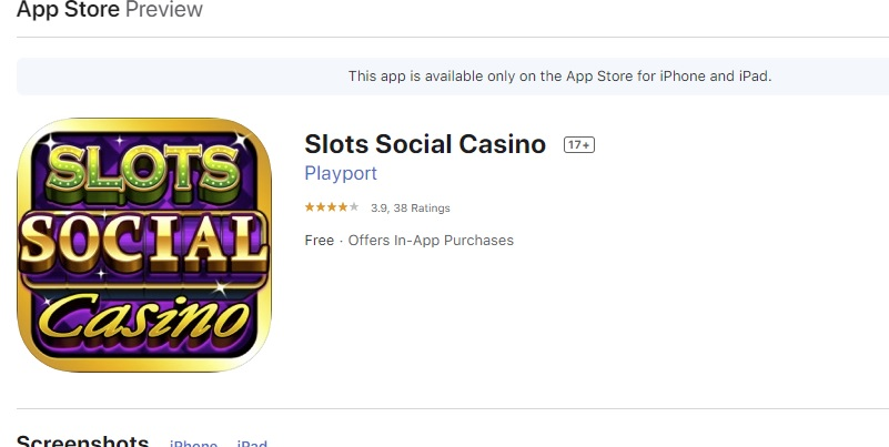 3 social casino apps voor op je iPhone