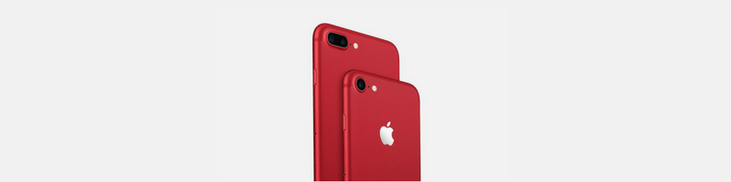 rode iPhone 7 Plus red